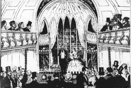 music essays english music hall Music hall is a type of british theatrical entertainment that was popular from the  early victorian era, beginning around 1850 it ended, arguably, after the first.
